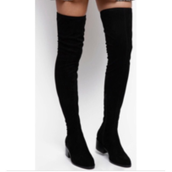 4015341a9fa Steve Madden Slayer over the knee boots